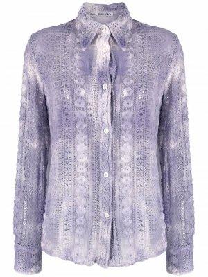 70s Line shirt Our Legacy. Цвет: фиолетовый