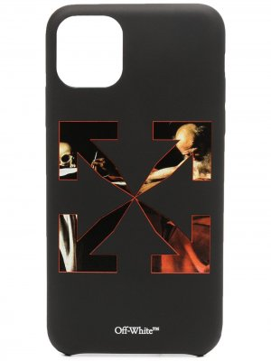 Чехол для iPhone 11 Pro Max с логотипом Arrows Off-White. Цвет: черный
