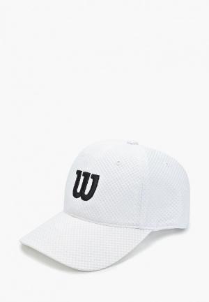 Бейсболка Wilson. Цвет: белый