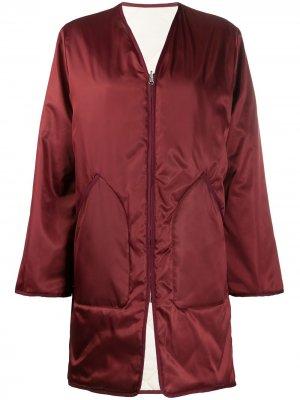 Двустороннее стеганое пальто York Filippa K. Цвет: красный