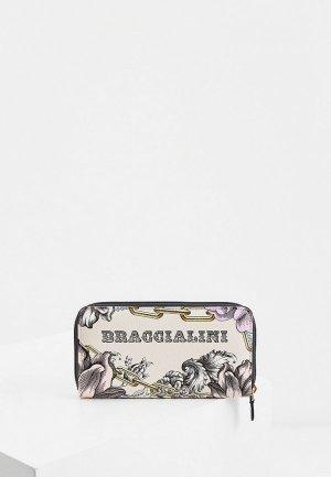 Кошелек Braccialini. Цвет: бежевый