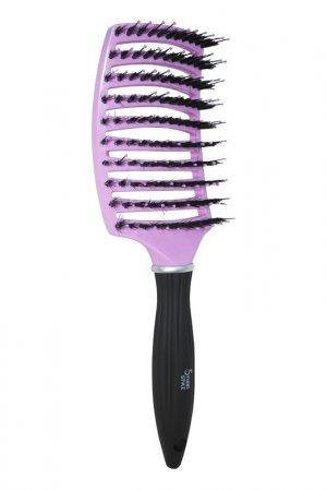 Щетка для волос Релакс STUDIO STYLE. Цвет: фиолетовый