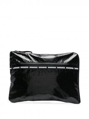 Чехол для ноутбука с логотипом Neighborhood. Цвет: черный