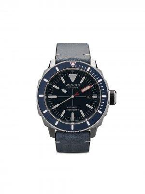 Наручные часы Seastrong Diver 300 44 мм Alpina. Цвет: голубой