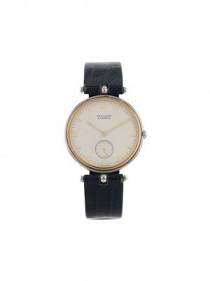 Наручные часы Pierre Arpels 32 мм 2000-х годов Van Cleef &. Цвет: белый