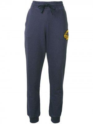 Трикотажные брюки с завышенной талией Vivienne Westwood Anglomania. Цвет: серый