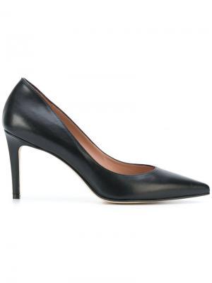 Туфли-лодочки с заостренным носком Antonio Barbato. Цвет: чёрный