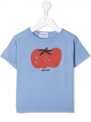 Футболка с принтом Tomato Bobo Choses. Цвет: синий