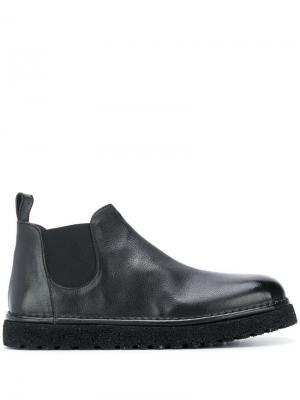 Ботинки челси Marsèll. Цвет: черный