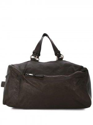 Дорожная сумка Giorgio Brato. Цвет: коричневый