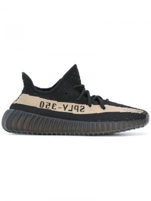 Кроссовки Adidas x  Boost 350 V2 Core Yeezy. Цвет: черный