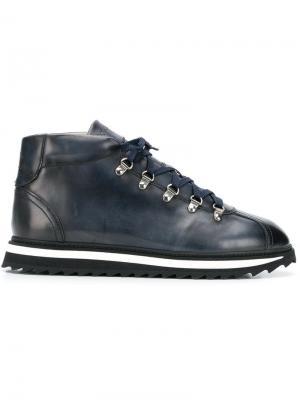 Lace-up boots Doucal's. Цвет: синий