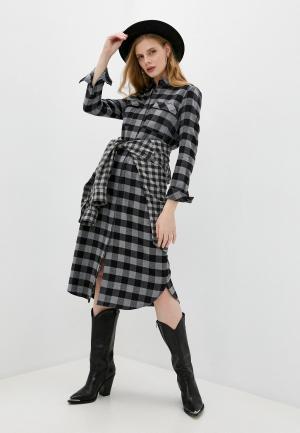 Платье Windsor. Цвет: серый