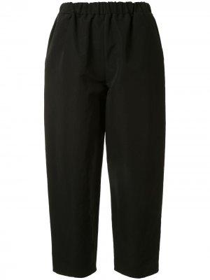 Укороченные пижамные брюки Dusan. Цвет: черный