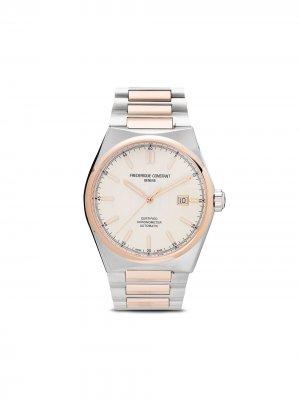 Наручные часы Highlife Automatic 41 мм Frédérique Constant. Цвет: серебристый