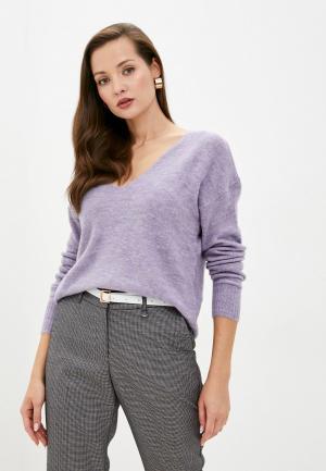 Пуловер Jacqueline de Yong. Цвет: фиолетовый