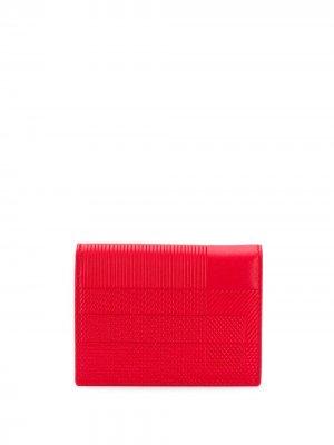 Складной бумажник Comme Des Garçons Wallet. Цвет: красный
