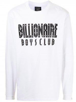 Футболка с принтом Billionaire Boys Club. Цвет: белый