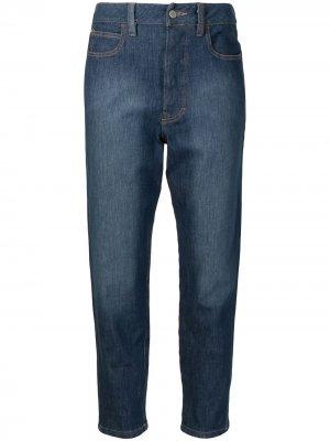 Зауженные джинсы Authentic Fades Manning Cartell. Цвет: синий