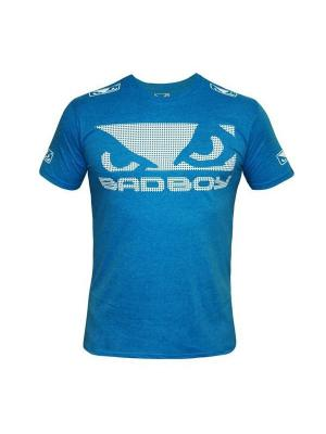 Футболка Bad Boy Walk In Tee Blue. Цвет: голубой
