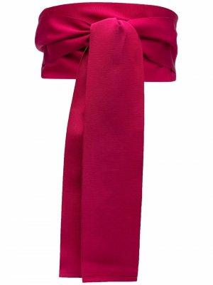 Пояс с завязками Sara Roka. Цвет: розовый