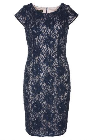 Кружевное платье Apart. Цвет: мультицвет