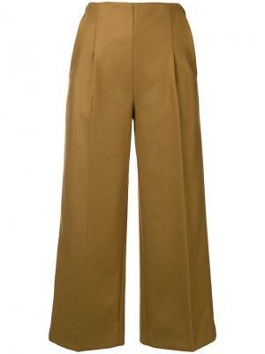 Cropped trousers Chalayan. Цвет: нейтральные цвета