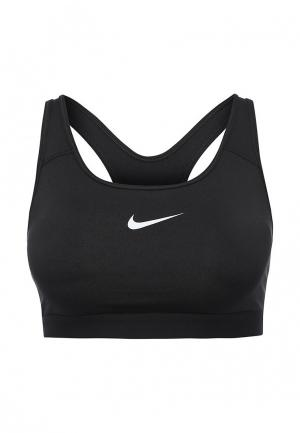 Топ спортивный Nike. Цвет: черный