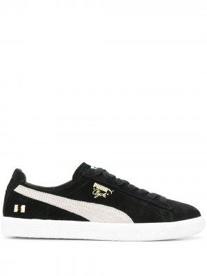 Кроссовки Clyde Puma. Цвет: черный