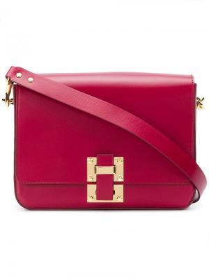 Quick large shoulder bag Sophie Hulme. Цвет: розовый
