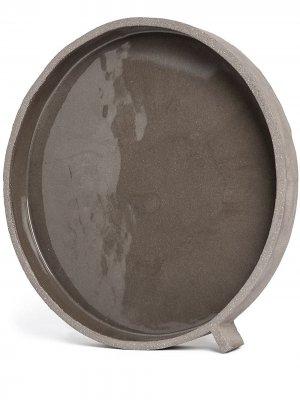 Сервировочное блюдо Serax. Цвет: серый