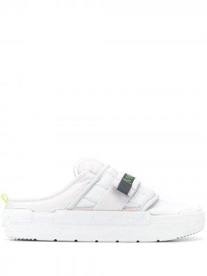 Мюли Offline Nike. Цвет: серый
