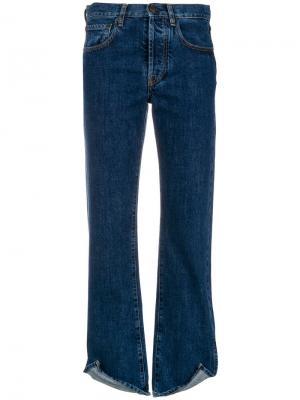 Расклешенные джинсы узкого кроя Ports 1961. Цвет: синий