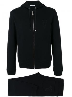 Спортивный костюм Versace Collection. Цвет: чёрный