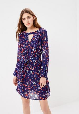 Платье Pettli Collection. Цвет: синий
