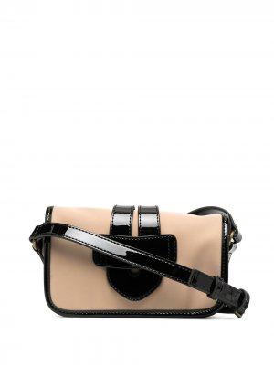 Мини-сумка через плечо Zelig Tila March. Цвет: нейтральные цвета