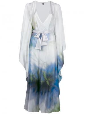 Халат Jardin Gilda & Pearl. Цвет: белый