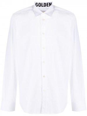 Рубашка с длинными рукавами Golden Goose. Цвет: белый