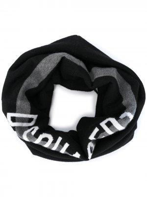 Воротник с логотипом Dsquared2. Цвет: черный
