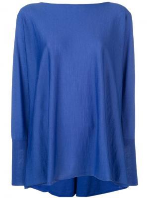 Loose fit sweater Les Copains. Цвет: синий