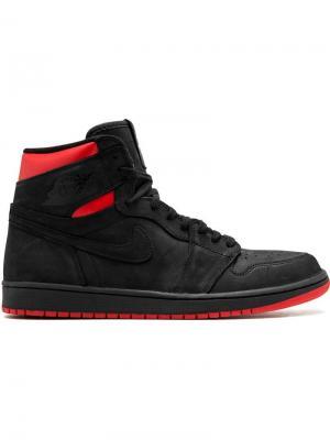 Кроссовки Air  1 Retro High OG Q54 Jordan. Цвет: черный