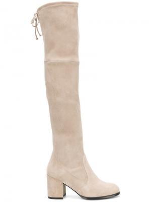 Tieland boots Stuart Weitzman. Цвет: нейтральные цвета