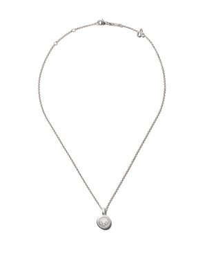 18kt white gold Happy Diamonds Icons necklace Chopard. Цвет: белый