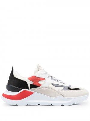 Кроссовки Fuga в стиле колор-блок D.A.T.E.. Цвет: нейтральные цвета