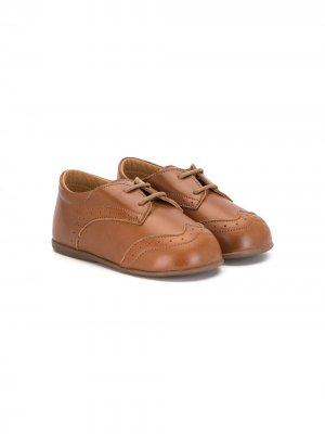 Туфли дерби BabyWalker. Цвет: коричневый