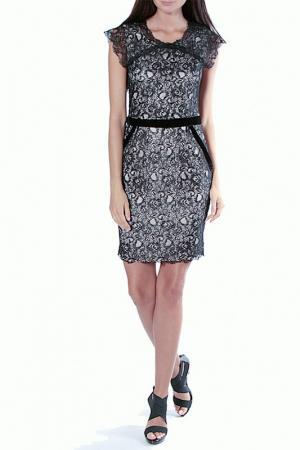 Платье Aftershock. Цвет: black, nude