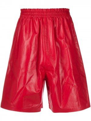 Длинные шорты Bottega Veneta. Цвет: красный