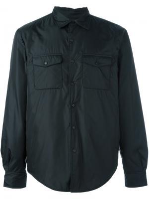 Рубашка с нагрудными карманами Aspesi. Цвет: черный