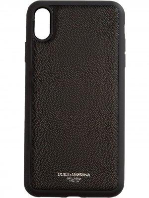 Iphone XS MAX Dolce & Gabbana. Цвет: черный