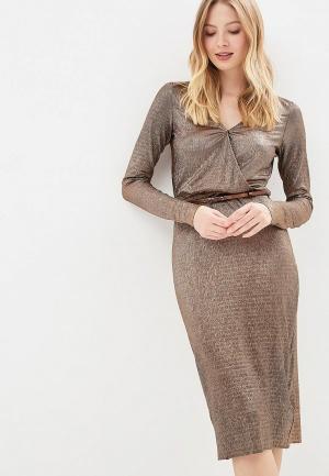 626c5e353946cfa Женские платья золотистые купить в интернет-магазине LikeWear Беларусь